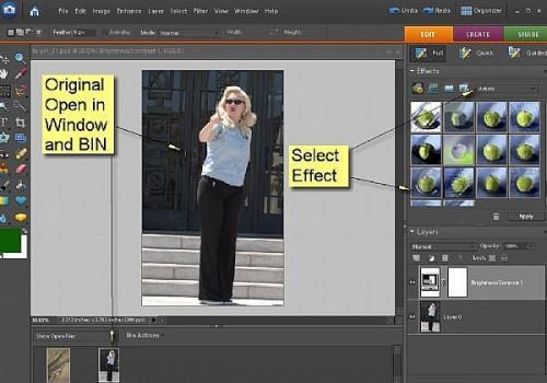 Cómo crear efectos especiales con Adobe Photoshop Elements 6