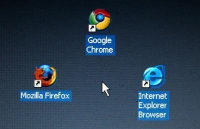 Cómo reducir los iconos del escritorio en Vista