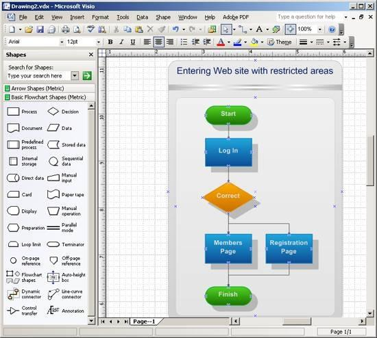 Cmo dibujar un diagrama de flujo en visio seabrookewindows cmo dibujar un diagrama de flujo en visio microsoft ccuart Choice Image
