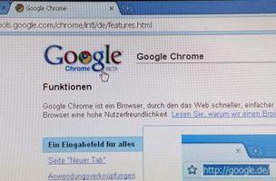Navegador Chrome de cromo vs.