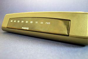 Causas de acceso telefónico a Internet lenta
