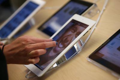 La transferencia de datos de la aplicación a un nuevo iPad