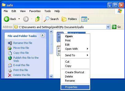Cómo descifrar archivos en Windows XP