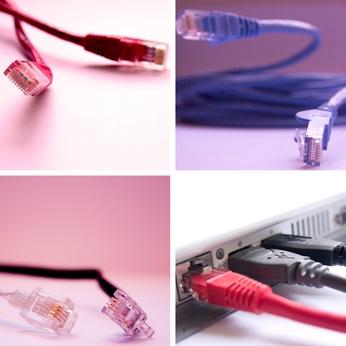 Cómo conectar un ordenador portátil a una red LAN PC