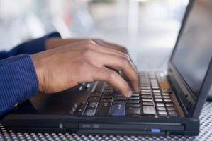 Cómo ajustar el brillo en una pantalla de IBM ThinkPad