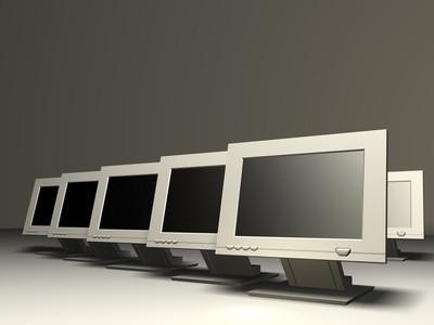 Cómo utilizar un segundo monitor en un HP Pavilion Elite M9250f