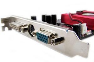 Cómo instalar una tarjeta de vídeo PCI 6200