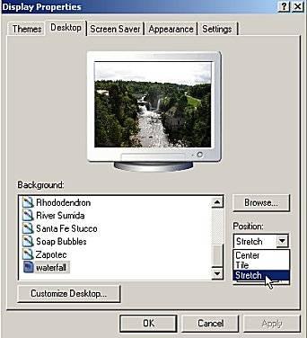 Cómo hacer un archivo tan grande como la pantalla del ordenador