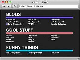 Cómo crear su propio navegador de Inicio o Home Page