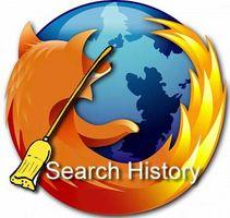 Cómo borrar el historial de búsqueda en Firefox