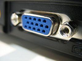 ¿Cuál es la diferencia entre un VGA y un enchufe DVI para un ordenador?
