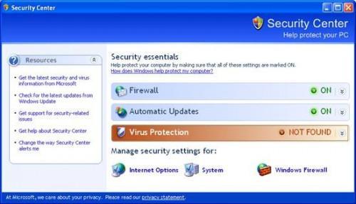 Cómo quitar las alertas de seguridad de Windows Desde la Bandeja del sistema