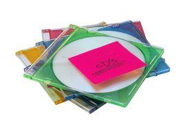Cómo imprimir una portada de CD de audio y Lista de pistas