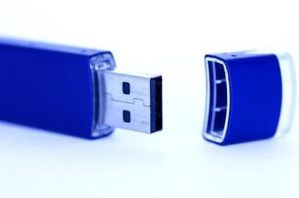 Cómo utilizar una llave de memoria USB
