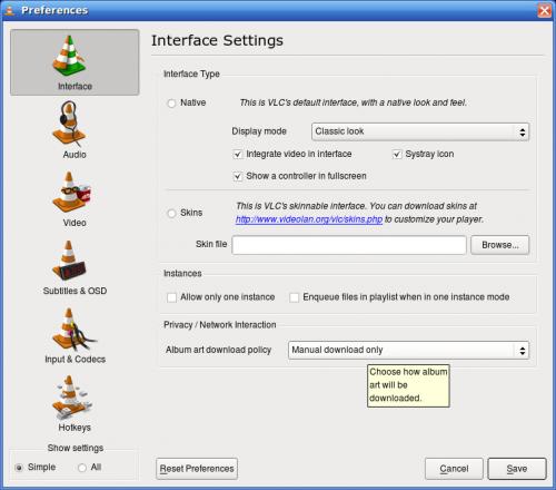 Cómo instalar un reproductor VLC en Ubuntu