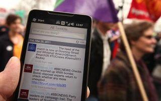 Uso de Twitter por Región