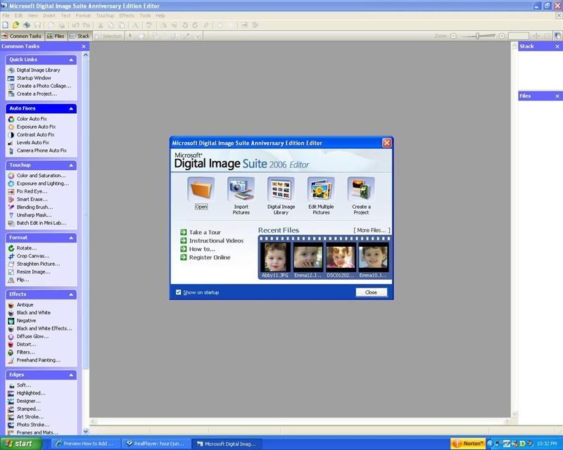 Cómo utilizar marcos y esteras en el software Microsoft Digital ...