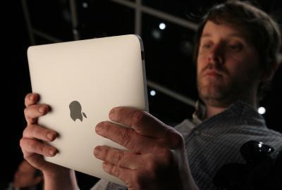 Cómo bloquear un iPad se incline