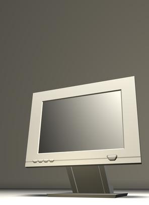 ¿Cómo se visualiza Mi monitor del ordenador portátil en el escritorio del monitor?
