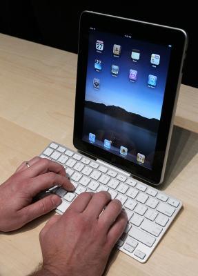 Cómo sacar el teclado para mostrar en un iPad