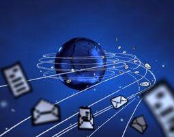"¿Qué significa ""enviar / recibir"" significan en Outlook Express?"
