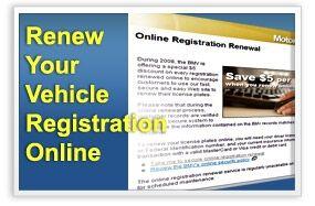 Cómo renovar Registro de vehículos por Internet