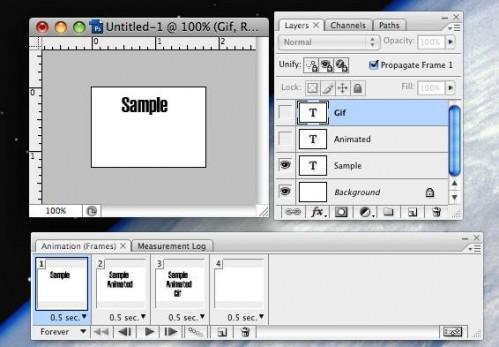 Cómo hacer GIF animados en un Mac