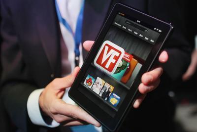 Cómo restablecer una Kindle Fire Bloqueado