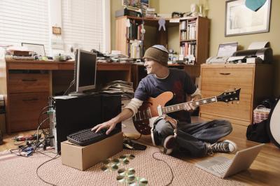 Cómo conectar una guitarra a un ordenador portátil