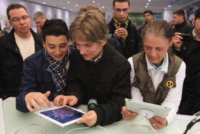 Cómo utilizar el freno de mano para el iPad