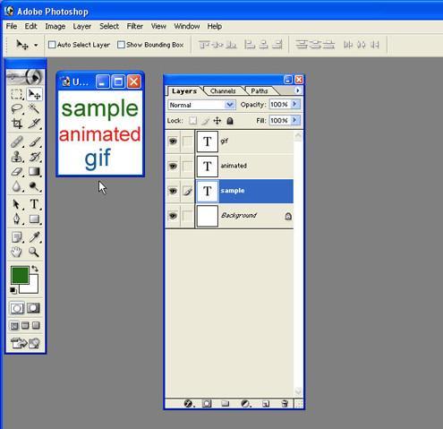 Cómo hacer GIF animados en Photoshop 7