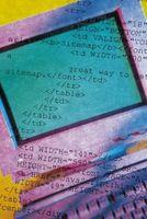 El HTML para cambiar el color de las palabras