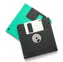 Partes de un disquete