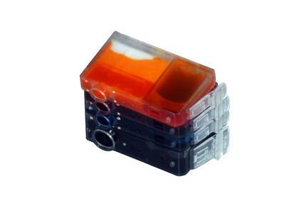 Cómo rellenar un cartucho de tinta Epson T0691