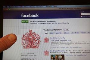 Cómo obtener una URL de Facebook de una página de fans