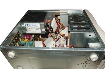 Cómo abrir una caja de Sony VAIO PCV RS360CS