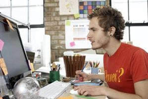 Cómo hacer un esquema de texto en Adobe Illustrator CS5