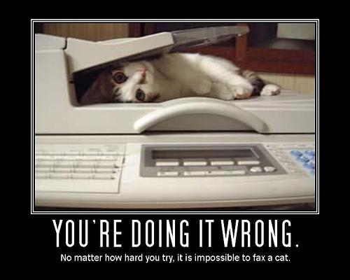 Usted puede fax sin necesidad de una línea telefónica?