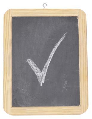 Cómo encontrar una marca de verificación en Word '08