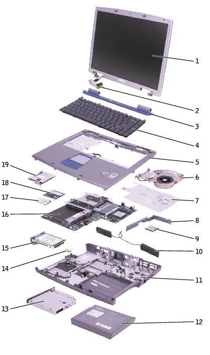 Cómo tomar un Dell 5100 Aparte