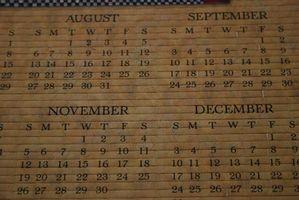 Cómo encontrar su fecha de nacimiento por calendario perpetuo