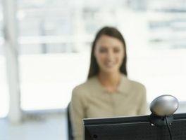 Usted puede chatear usando una webcam con una conexión de acceso telefónico?