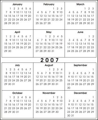 Cómo crear un calendario para imprimir línea de forma gratuita