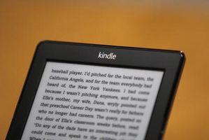Cómo cambiar los capítulos en Kindle