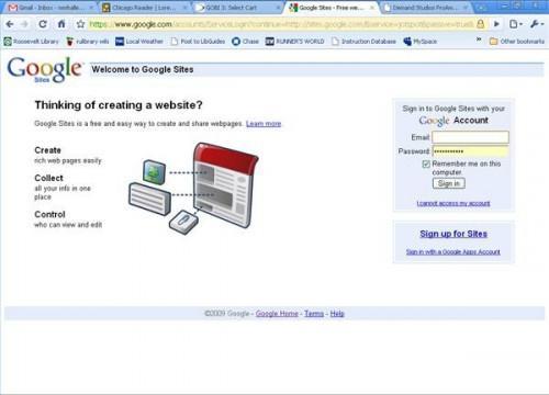 Cómo crear una página web gratis en Google