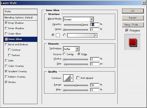 Cómo hacer que este botón fresco del Web con Adobe Photoshop CS4