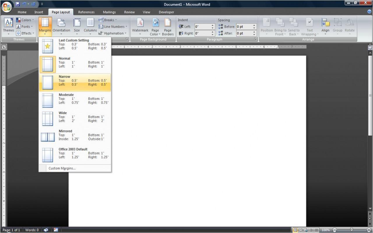 Cómo hacer un tríptico en Microsoft Word 2007 - Seabrookewindows.com