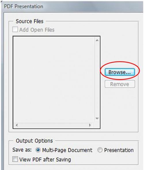 Cómo crear un PDF de varias páginas