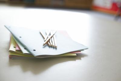 Cómo crear un folleto de la escuela