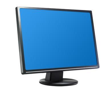 Cómo solucionar problemas de un monitor de pantalla plana con una onda Movimiento hacia abajo la pantalla